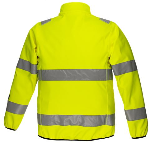 Softshell Jacket HiVis 1.0 2 Leijona  Large