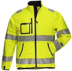 Softshelljacka HiVis 1.0 Leijona Medium