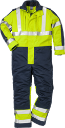 Flame high vis winteroverall klasse 3 8625 FWA Fristads Kansas Medium
