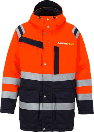 High vis winter parka class 3 4042 PP 2 Fristads  Large