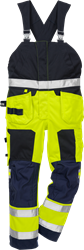 Flamestat high vis bib´n´brace cl 2 1075 ATHS Fristads Kansas Medium