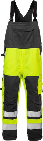 High vis bib'n'brace cl 2 1096 PLU 1 Kansas  Large