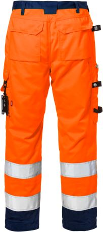 High vis trousers cl 2 2096 PLU 2 Kansas  Large