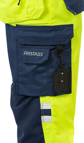 High Vis Handwerker Stretch-Hose Damen Kl. 2 2613 PLUS 6 Fristads  Large