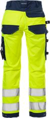 High Vis Handwerker Stretch-Hose Damen Kl. 2 2613 PLUS 3 Fristads Small