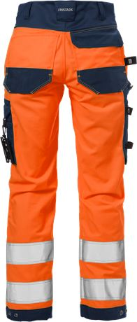 High vis craftsman stretch trousers woman class 2 2613 PLUS 3 Fristads  Large