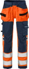 High vis craftsman stretch trousers woman class 2 2613 PLUS 2 Fristads Small