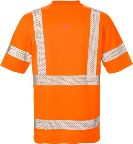High Vis T-Shirt Kl. 3 7087 THV  2 Kansas  Large