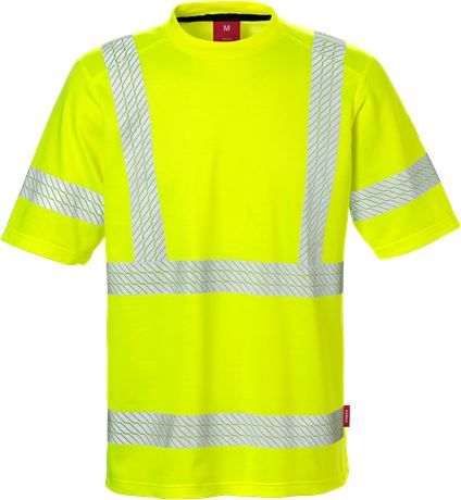 High Vis T-Shirt Kl. 3 7087 THV  1 Kansas  Large