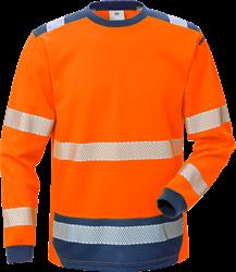 High Vis T-Shirt Langarm Kl. 3 7089 THV Kansas Medium