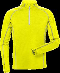 Sweatshirt med kort lynlås 7514 Kansas Medium