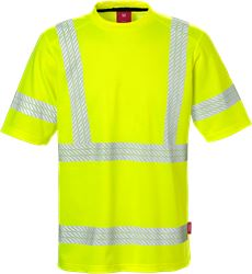 Hi Vis t-shirt kl. 3, Safesoft Kansas Medium