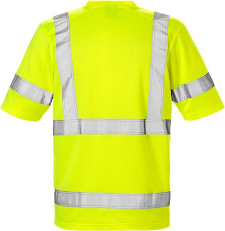 High Vis T-Shirt Kl. 3 7085 THV 2 Kansas  Large