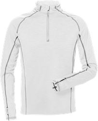Half zip long sleeve t-shirt 7514 LKN Kansas Medium