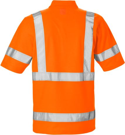 High Vis Poloshirt Kl. 3 7086 PHV 2 Kansas  Large