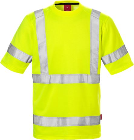 High Vis T-Shirt Kl. 3 7085 THV 1 Kansas  Large