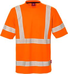 Hi Vis T-shirt kl.3, Safesoft Kansas Medium