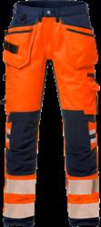 High Vis Handwerker Stretch-Hose Kl. 2 2707 PLU Kansas Medium