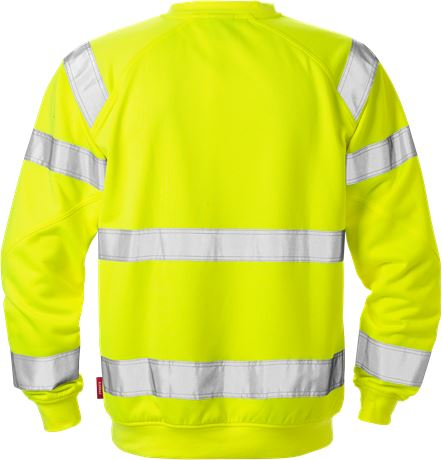 High Vis Sweatshirt Kl. 3 7084 SHV 2 Kansas  Large