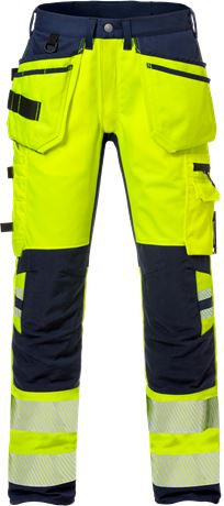 High Vis Handwerkerhose Kl. 2, Flexforce 1 Kansas