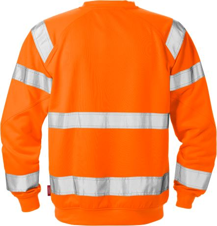 High vis sweatshirt cl 3 7084 SHV 2 Kansas  Large