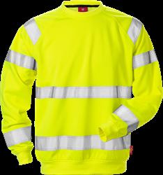 High Vis Sweatshirt Kl. 3 7084 SHV Kansas Medium