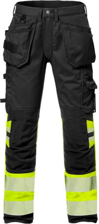 High Vis Handwerkerhose Kl. 1, Flexforce 1 Kansas  Large