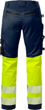 High Vis Handwerkerhose Kl. 1, Flexforce 2 Kansas  Large