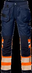 High Vis Handwerker Stretch-Hose Kl. 1 2706 PLU Kansas Medium