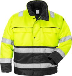 High vis winter jacket class 3 444 PP Fristads Medium