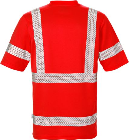 High Vis T-Shirt Kl. 3 7407 THV 4 Fristads  Large