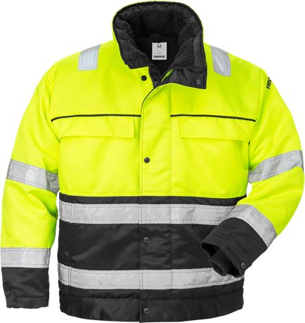High vis winterjack klasse 3 444 PP 1 Fristads  Large