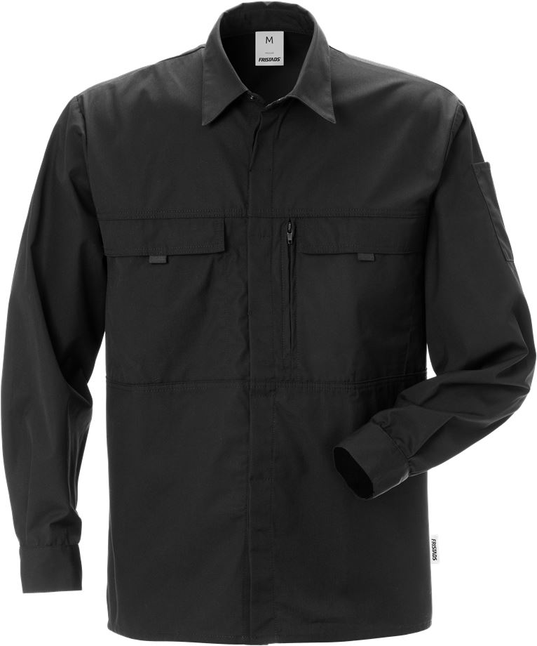 Fristads Men's Skjorta 735 SB, Svart