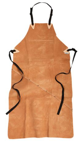 Leather long apron 9331 LTHR 1 Fristads  Large