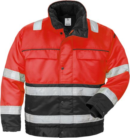 High vis winter jacket class 3 444 PP 1 Fristads  Large