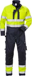 Flame high vis winter coverall class 3 8088 FLAM Fristads Medium