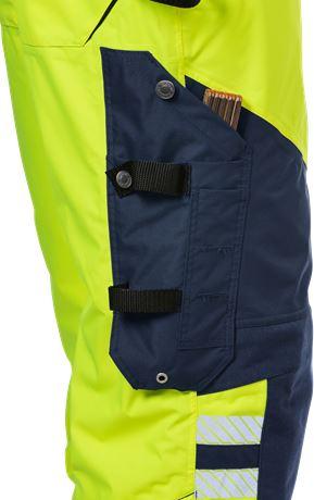High vis Airtech® shell trousers class 2 2515 GTT 13 Fristads  Large