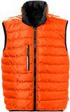 Quiltet vendbar vest 5011 TA 2 Fristads Small