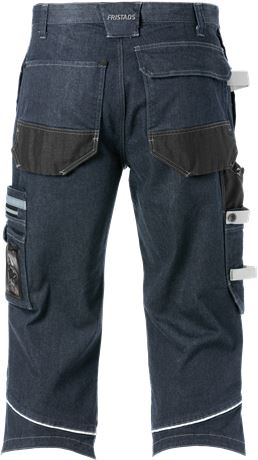 Denim stretch pirate trousers 2136 DCS 2 Fristads  Large