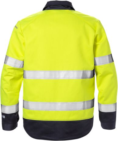 Flame high vis jacket class 3 4584 FLAM 2 Fristads  Large