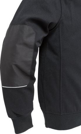 Sweatshirt-jacka med huva 7783 LYS 5 Fristads  Large