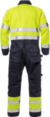 Flame High Vis Overall Kl. 3 8084 FLAM 2 Fristads Small
