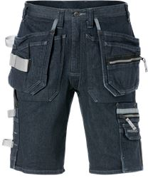 Bermuda en denim  stretch 2137 DCS  Fristads Medium