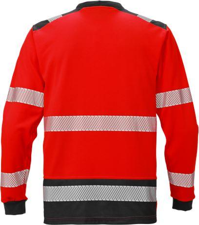 High vis long sleeve t-shirt class 3 7724 THV 2 Fristads  Large