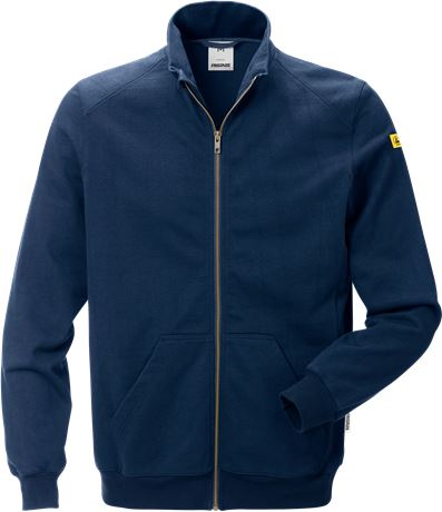 ESD sweat jacket 4080 XSM 1 Fristads  Large
