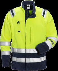 Flamestat Hi Vis fleece jakke kl.3 4063 Fristads Medium