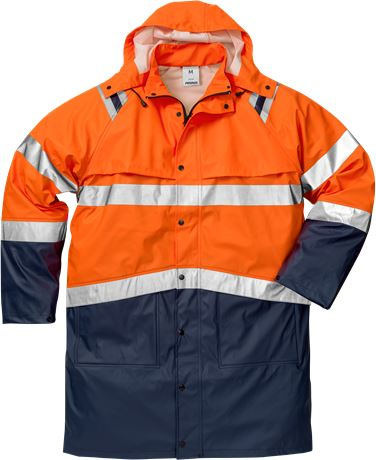 High vis rain coat class 3 4634 RS 1 Fristads  Large
