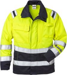 Flamestat High Vis Jacke Damen Kl. 3 4275 ATHS Fristads Medium