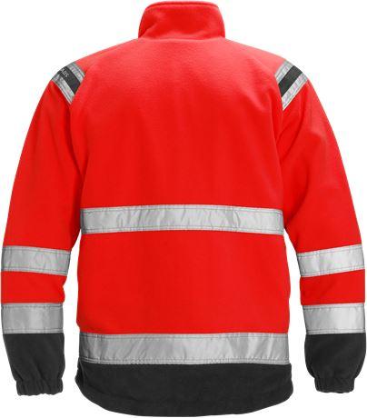 High vis fleece jacket class 3 4041 FE 2 Fristads  Large