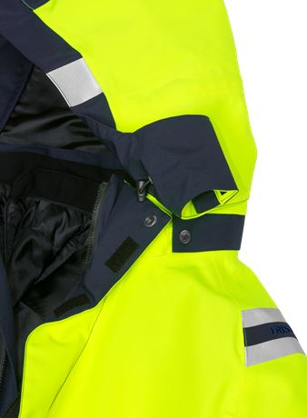 High vis GORE-TEX winter parka class 3 4989 GXB 4 Fristads  Large